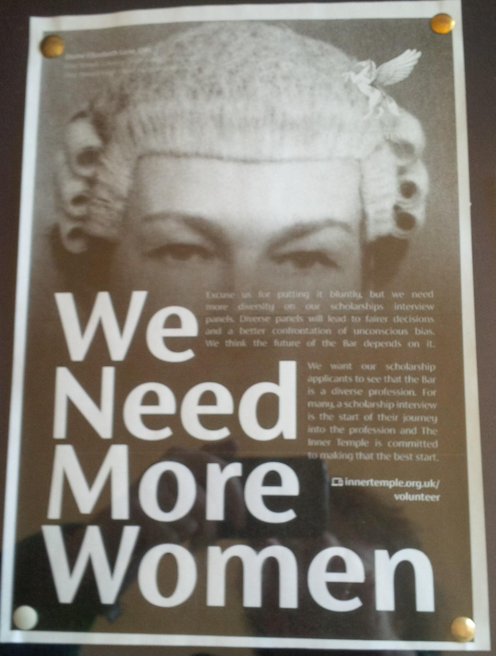 We Need More Women